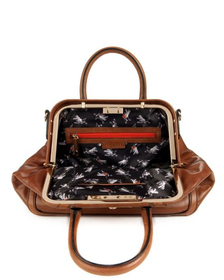 Ted Baker Merisa leather frame bag