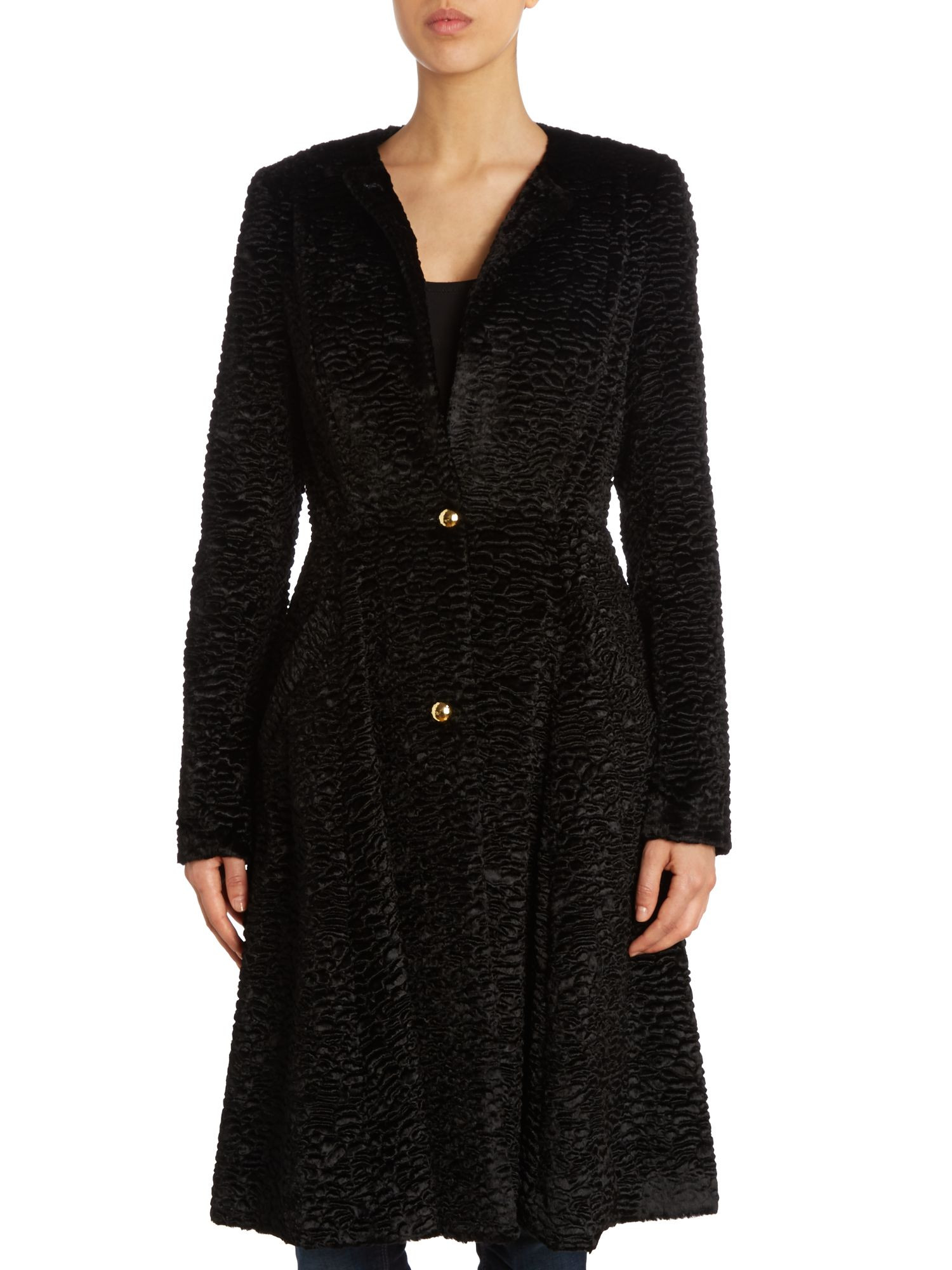 Colette full skirted coat