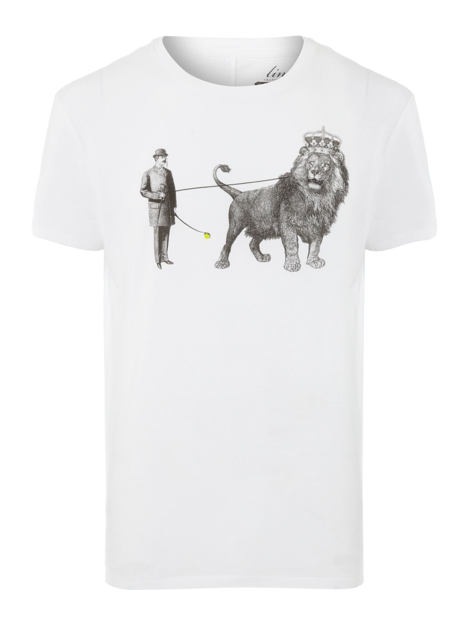 tame the lion graphic tee