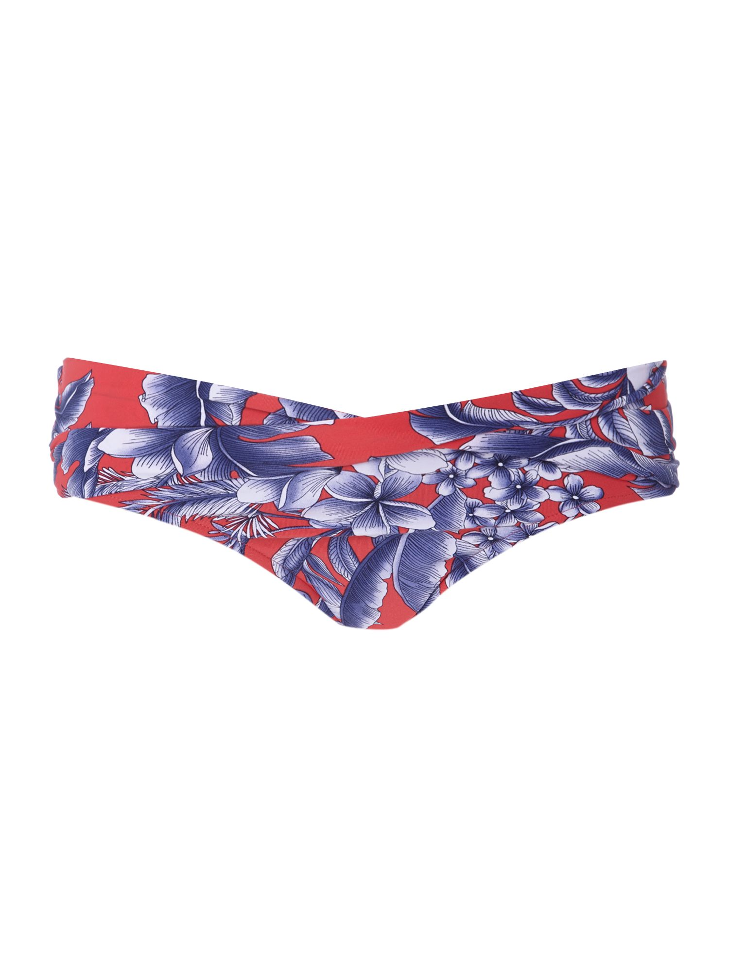 Tropical goddess twist front brief