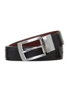 Reversible belt in a box