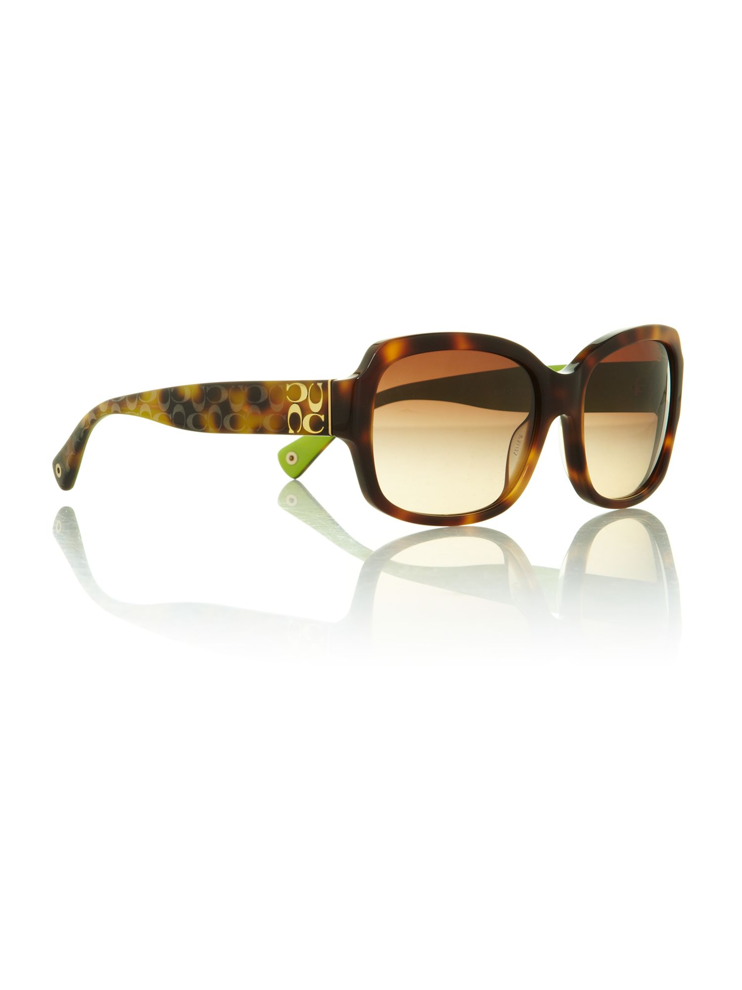Ladies HC8050 tortoise emma sunglasses
