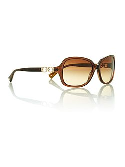 Ladies HC8010b brown beatrice sunglasses