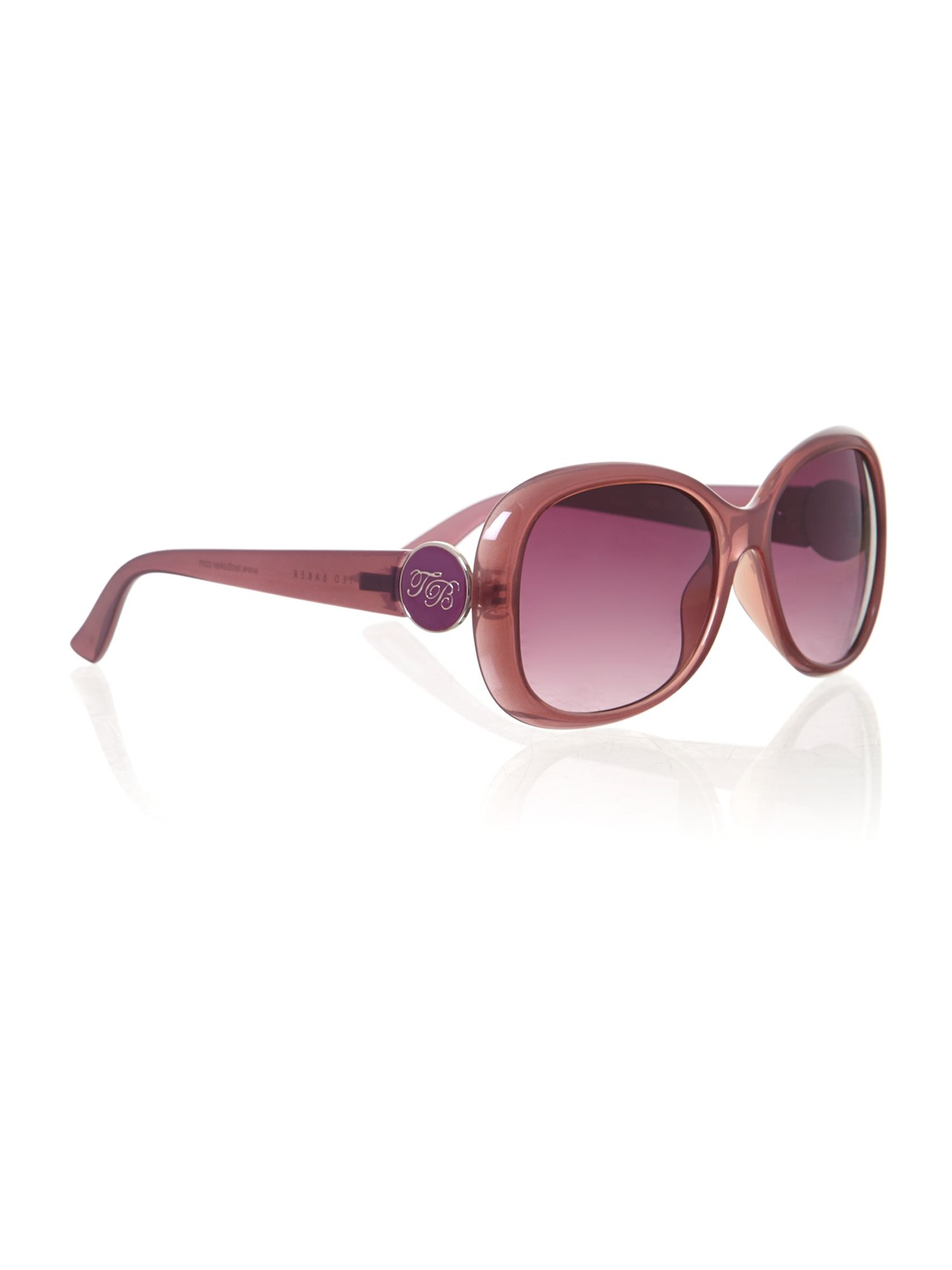 Ladies red eisley sunglasses