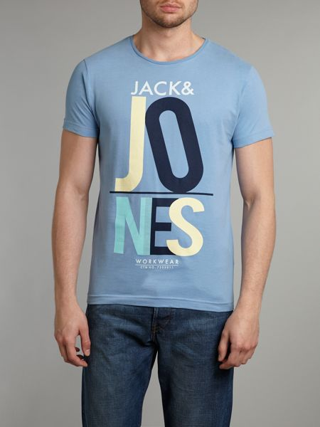 Jack & Jones Short-sleeved logo print T-shirt