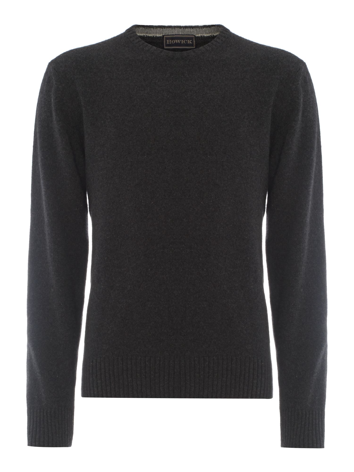 100% Cashmere crew neck jumper made in Italy