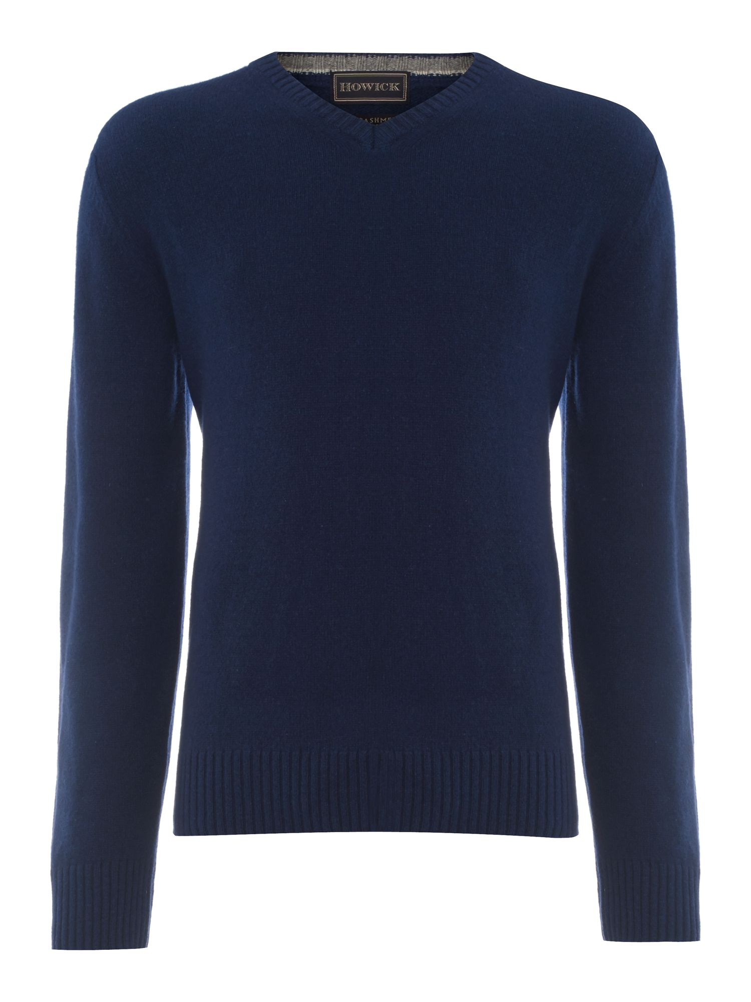 Cashmere v-neck jumper made in Italy