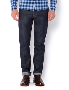 Regent tailored raw wash jeans