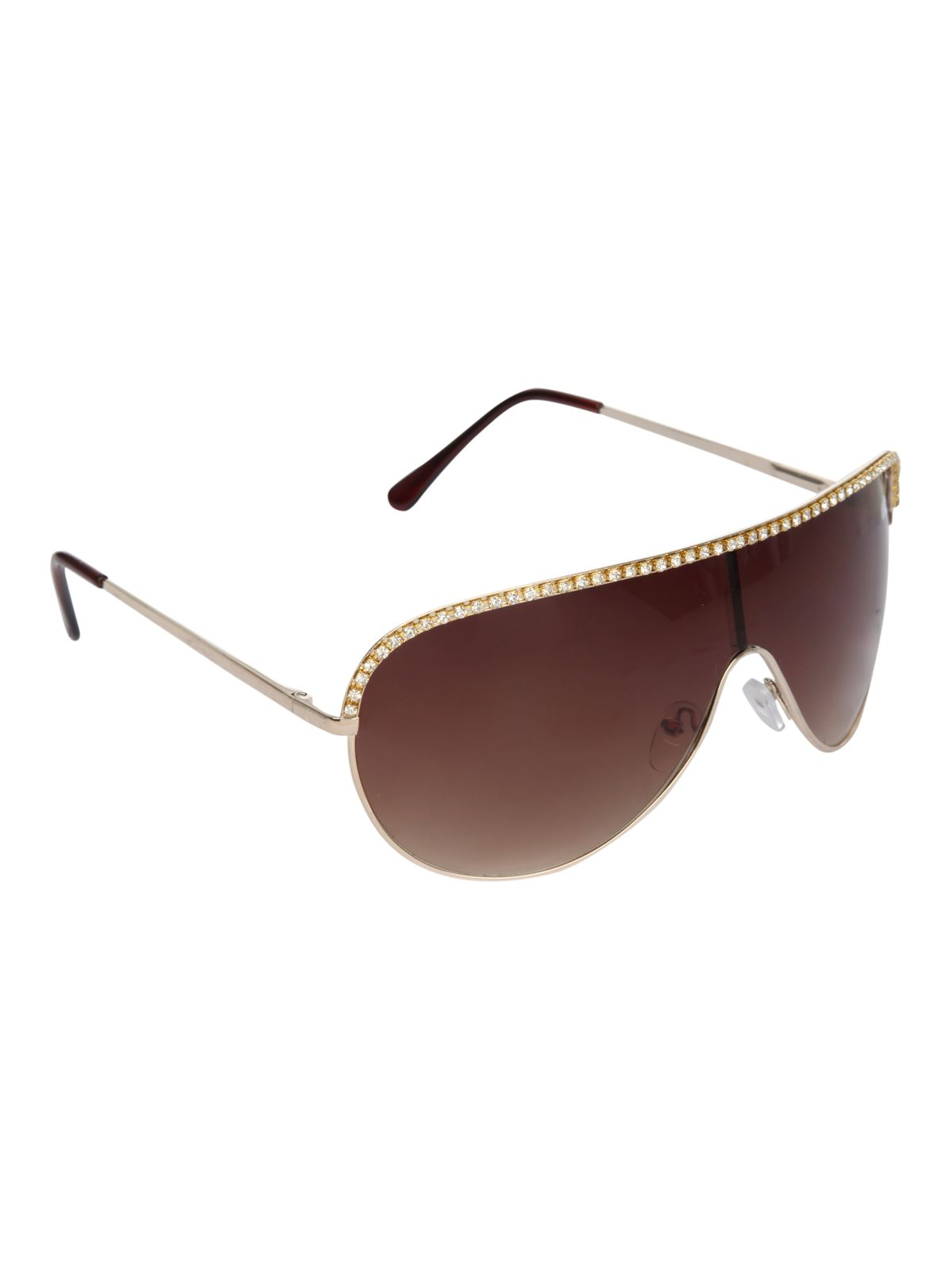 Bling visor sunglasses