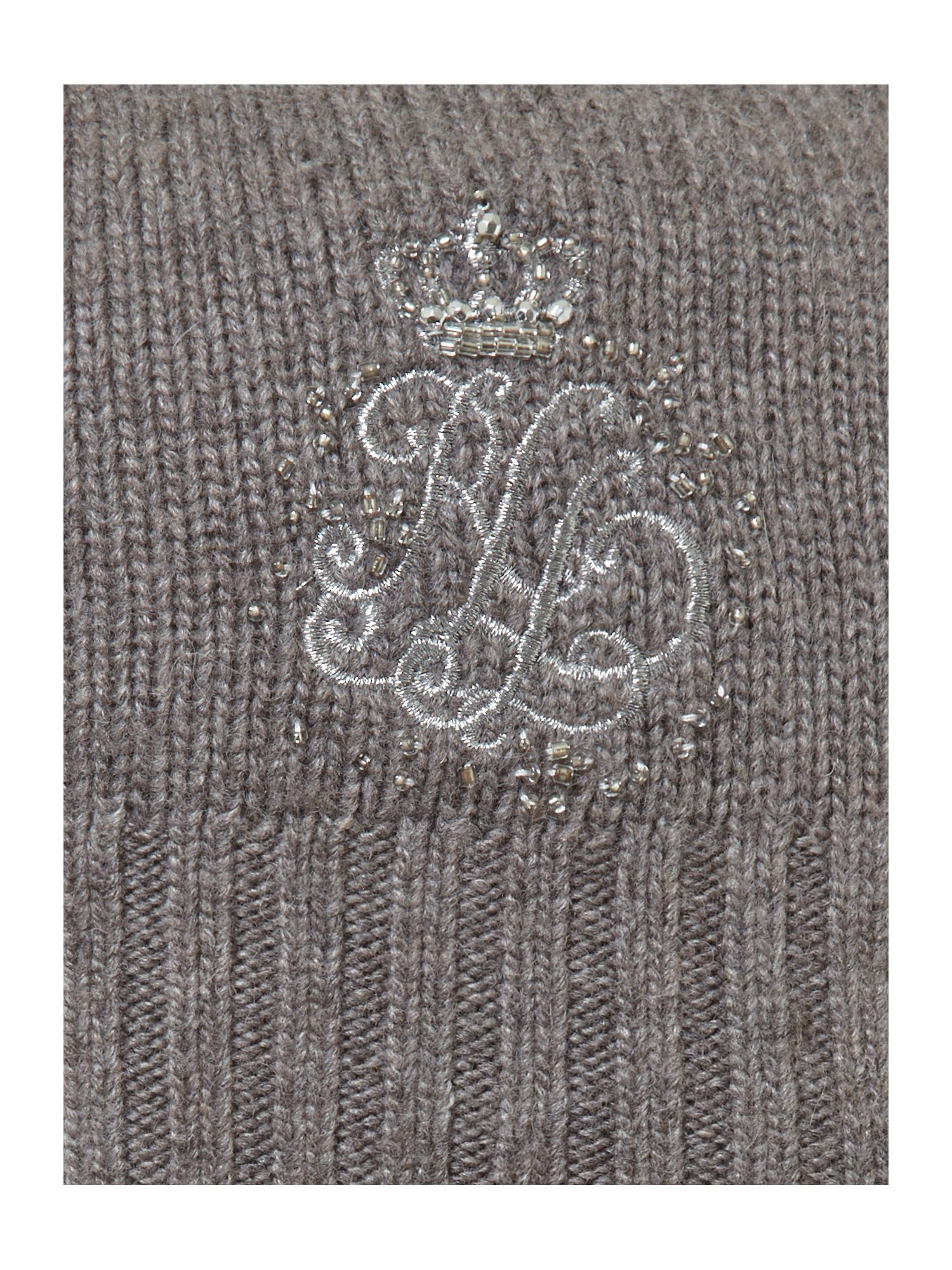 Signature monogram hat