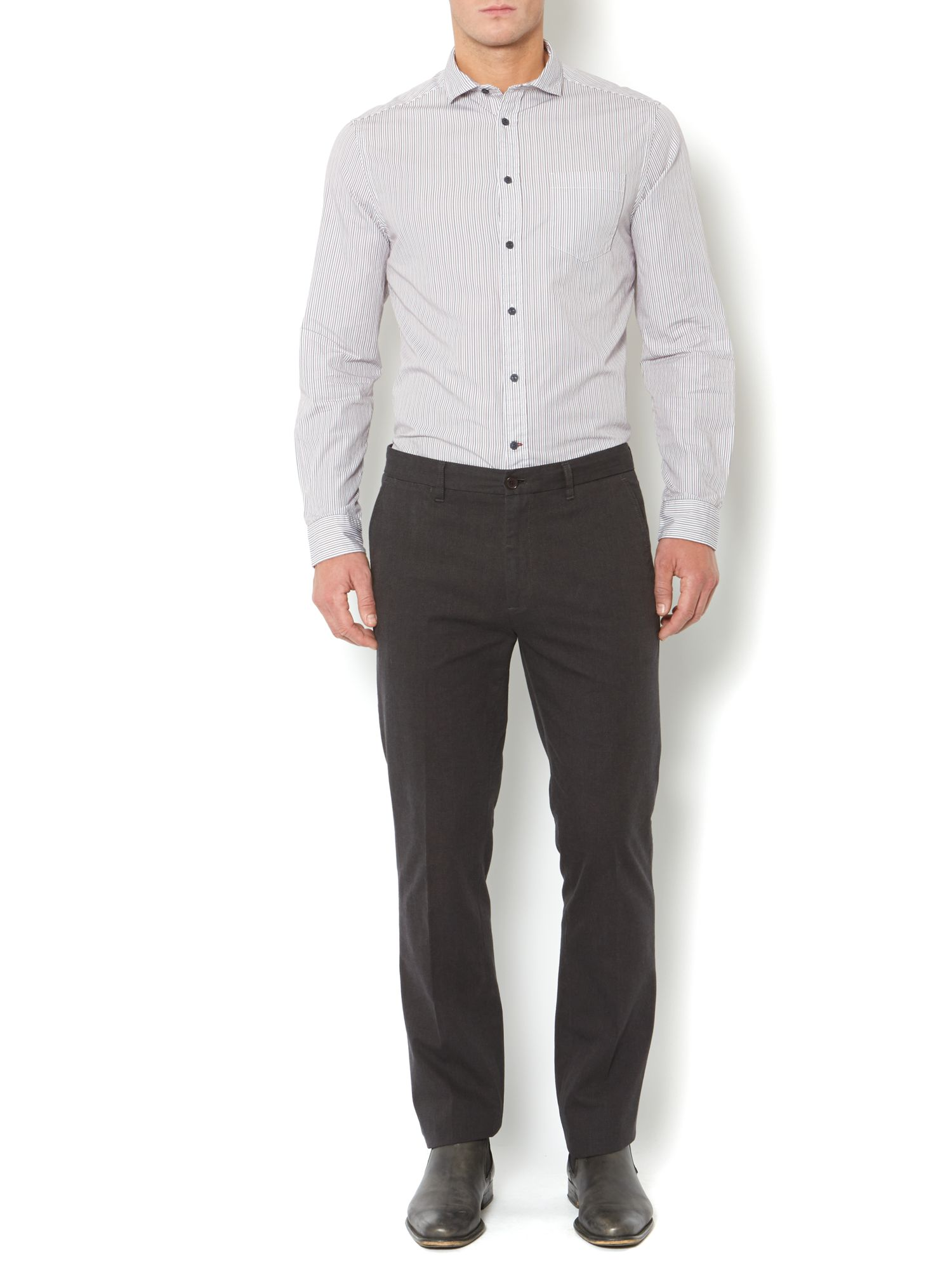 Hamledon smart straight fit trousers