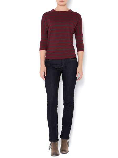 Linea Weekend Ladies straight leg indigo wash jeans