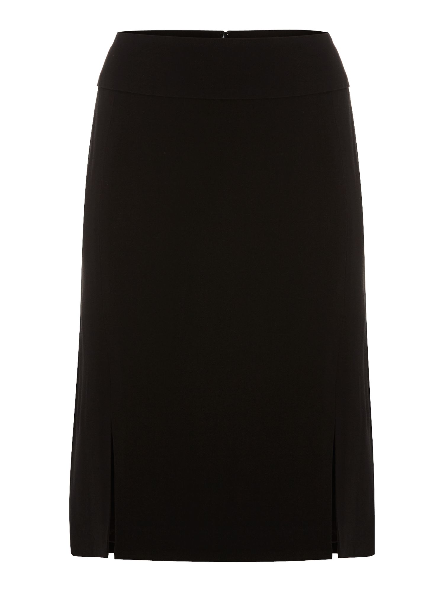 Front split pencil skirt