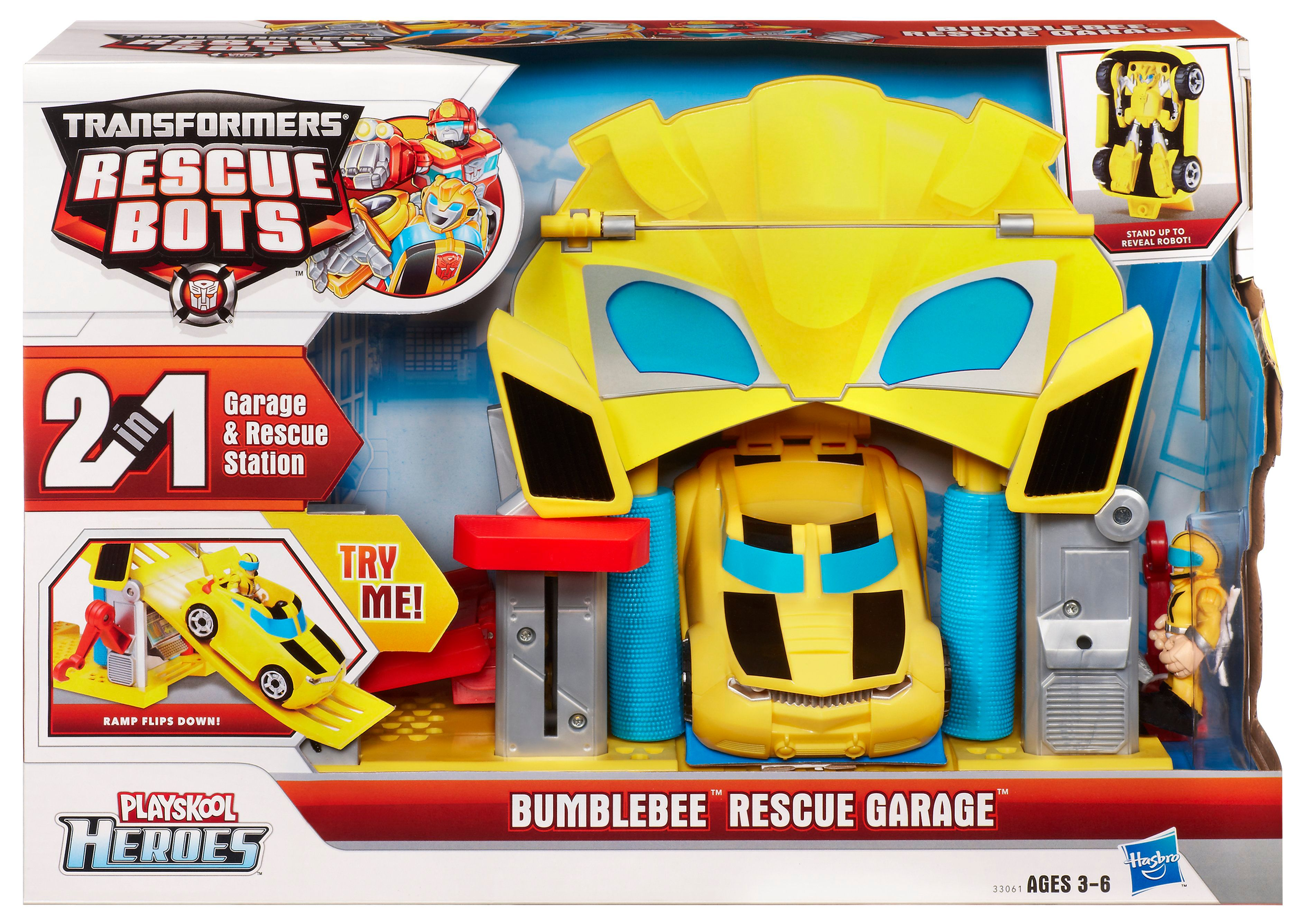 Transformers Bumble Bee  Garage