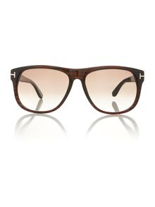 Tom Ford Sunglasses Men`s FT0236 brown oliver sunglasses