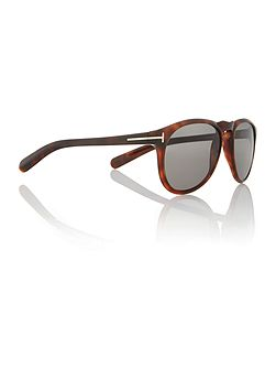 Ladies FT0291 tortoise brown flynn sunglasses