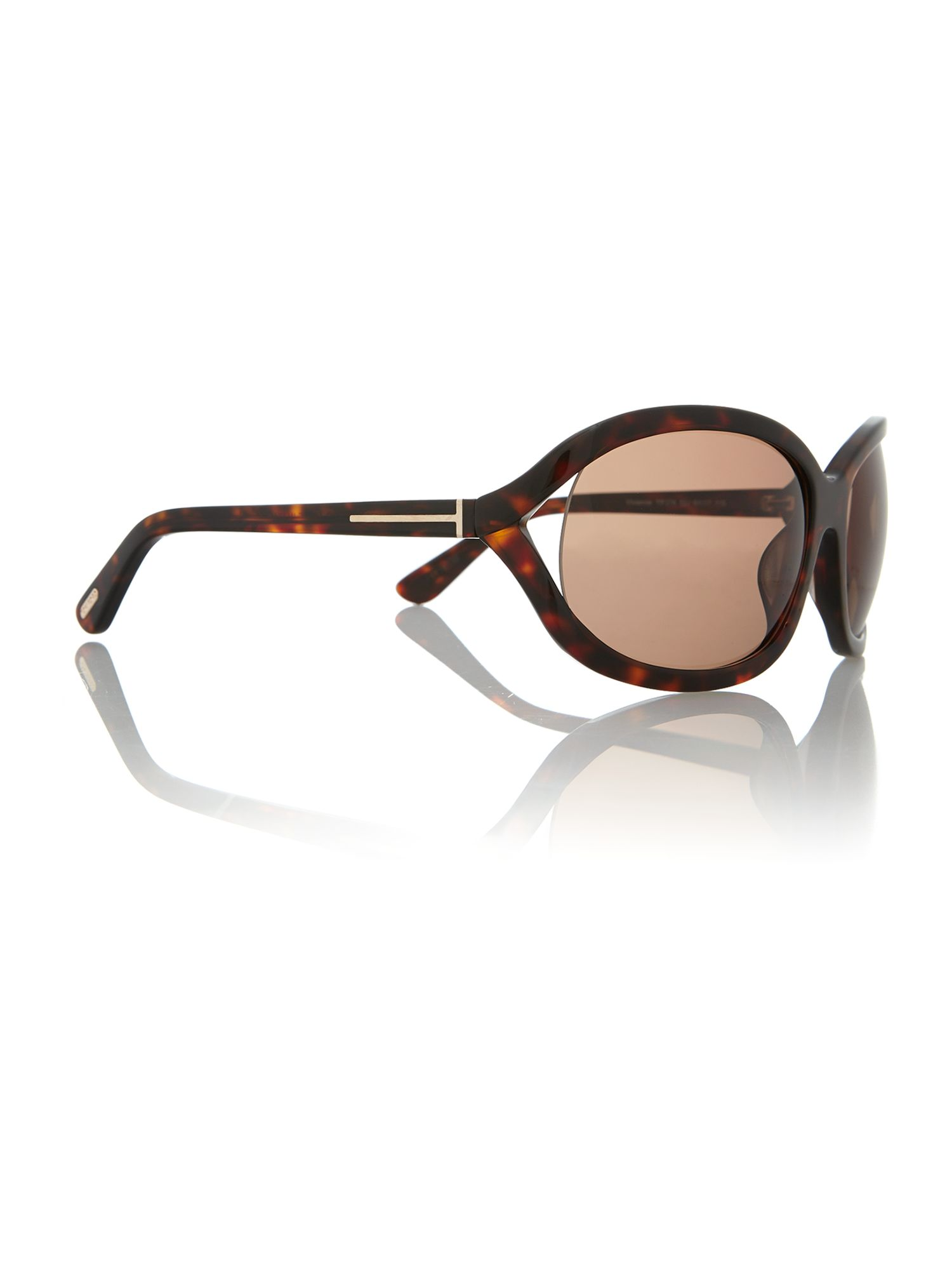 Ladies FT0278 tortoise brown vivienne