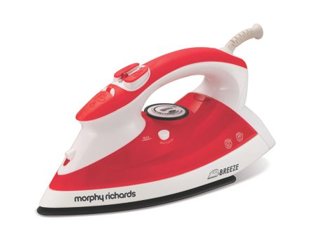 Morphy Richards Breeze 2000w steam red iron