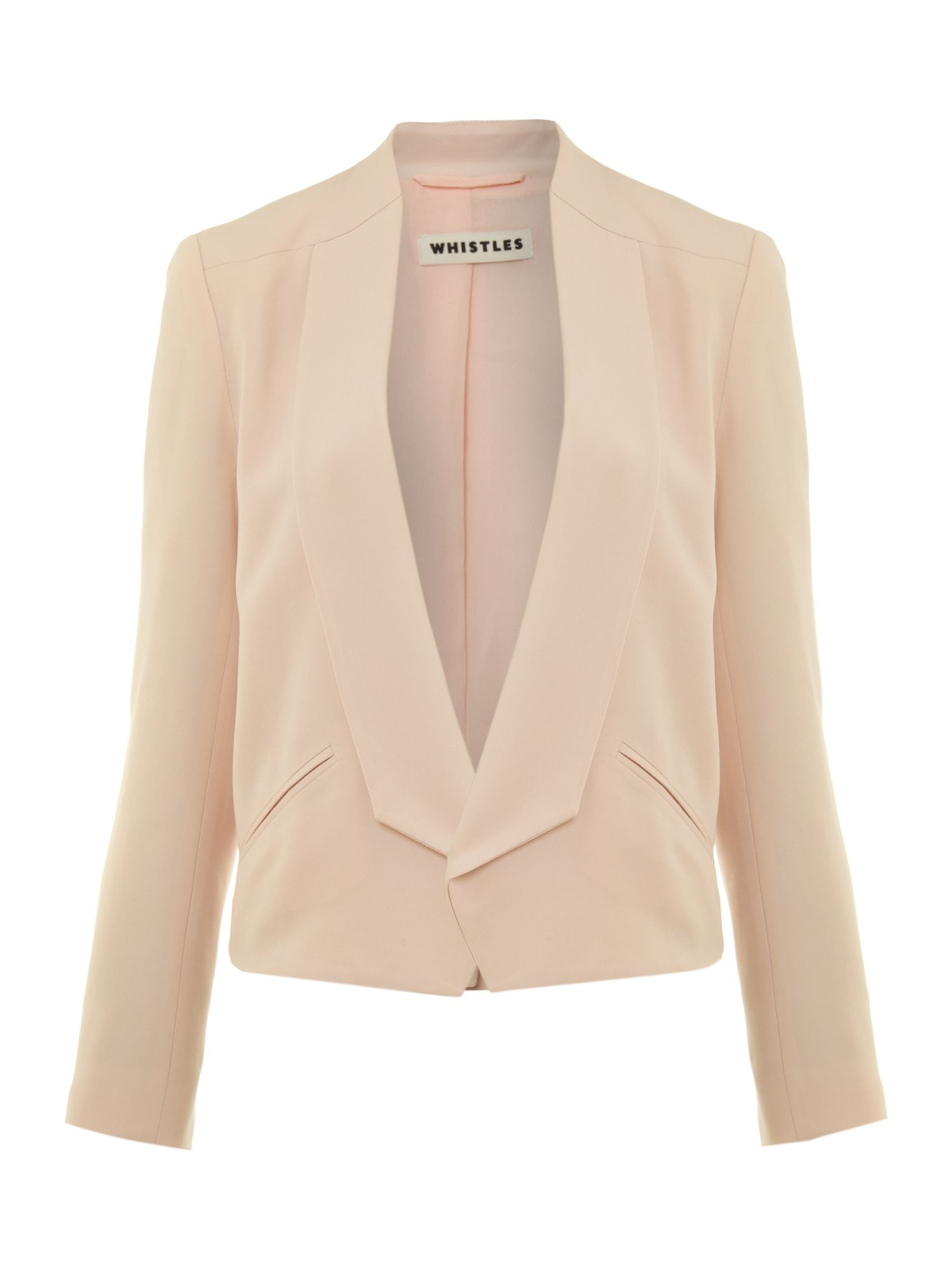 Eliot crepe jacket