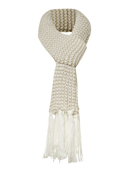 Linea Cream mix and match scarf