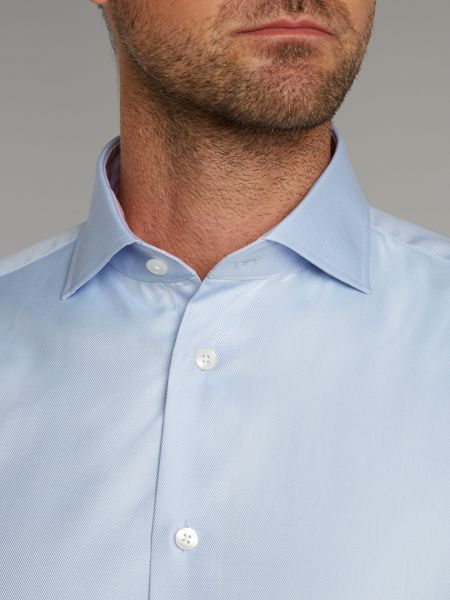 Without Prejudice Canfield single cuff shirt