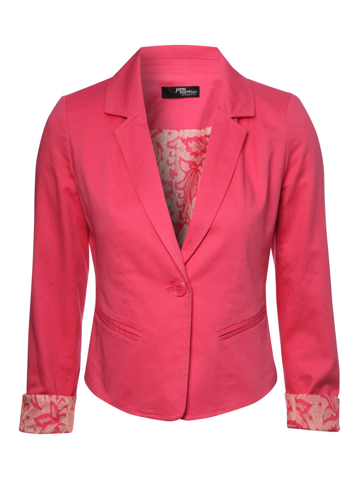 Coloured blazer