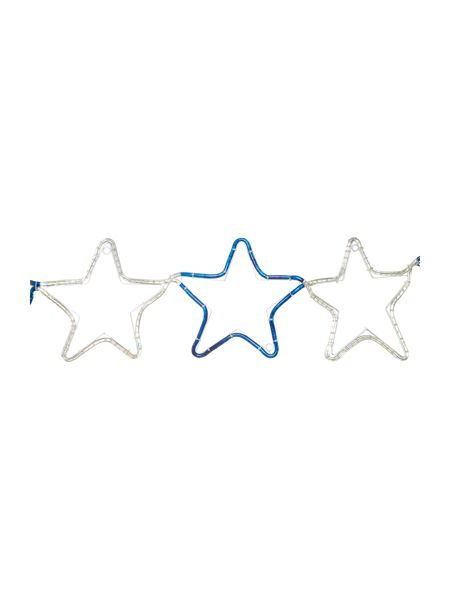 Premier 9 piece star chain blue and white