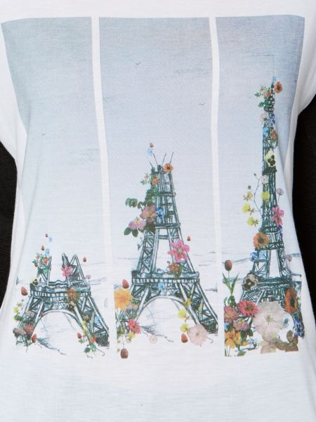 Therapy Eiffel tower placement print tee