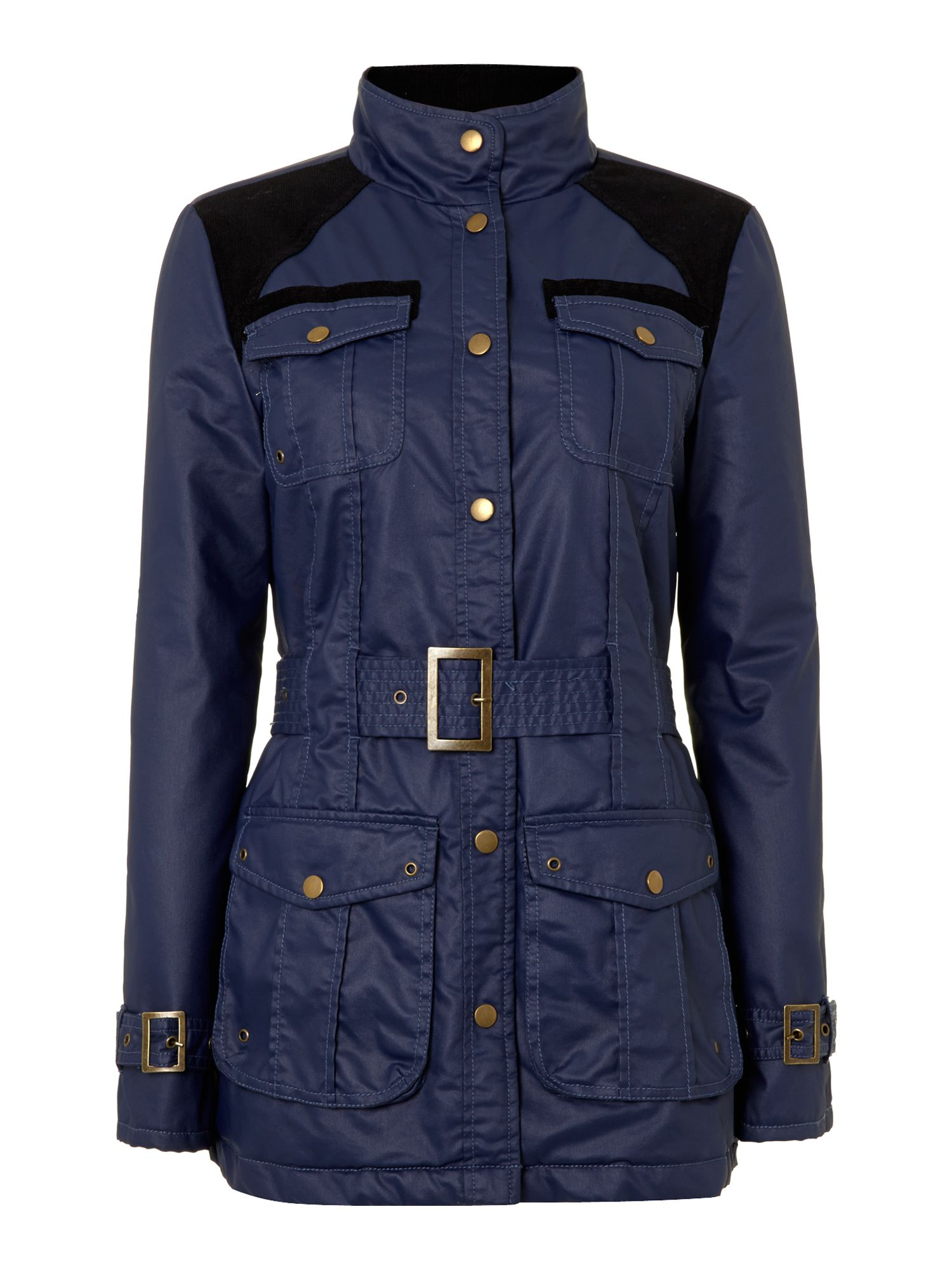 Quilted Outerwear Wax Jacket