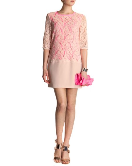 Ted Baker Gabbiey lace detail dress