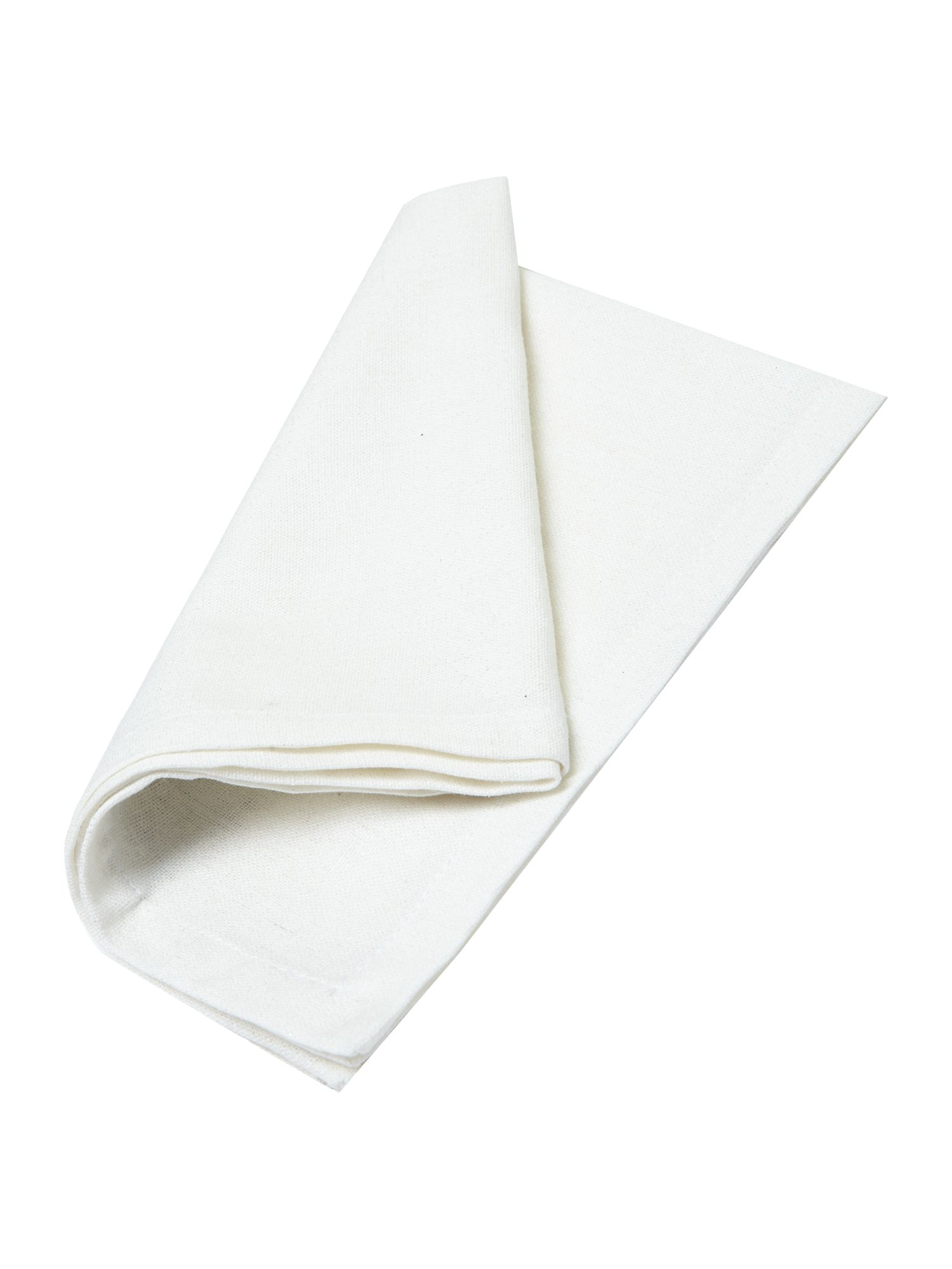 Ecru sparkle collage napkin