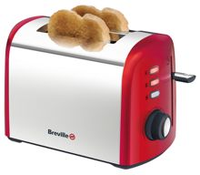 Red collection 2 Slice toaster