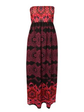 Jane Norman Printed Maxi Dress