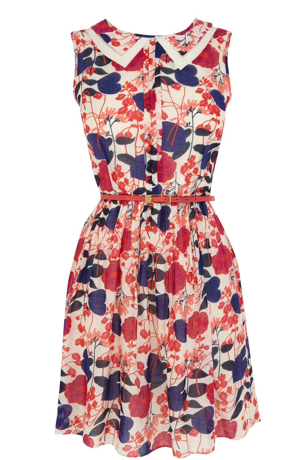 Shadow floral sundress