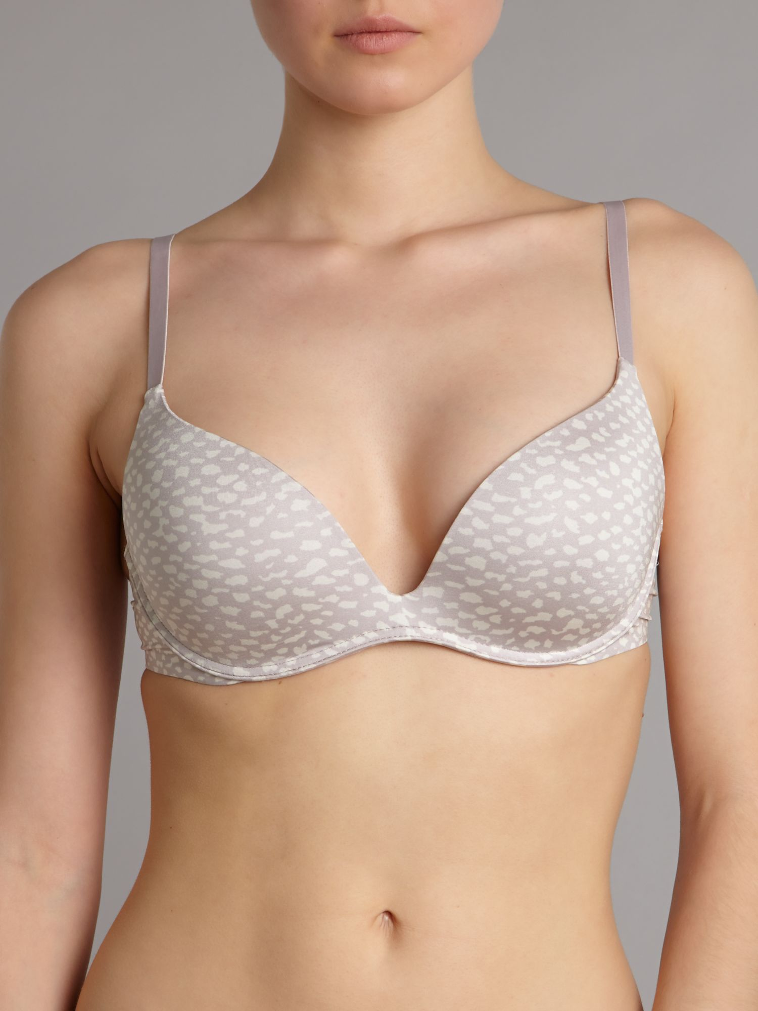 Push positive push up bra