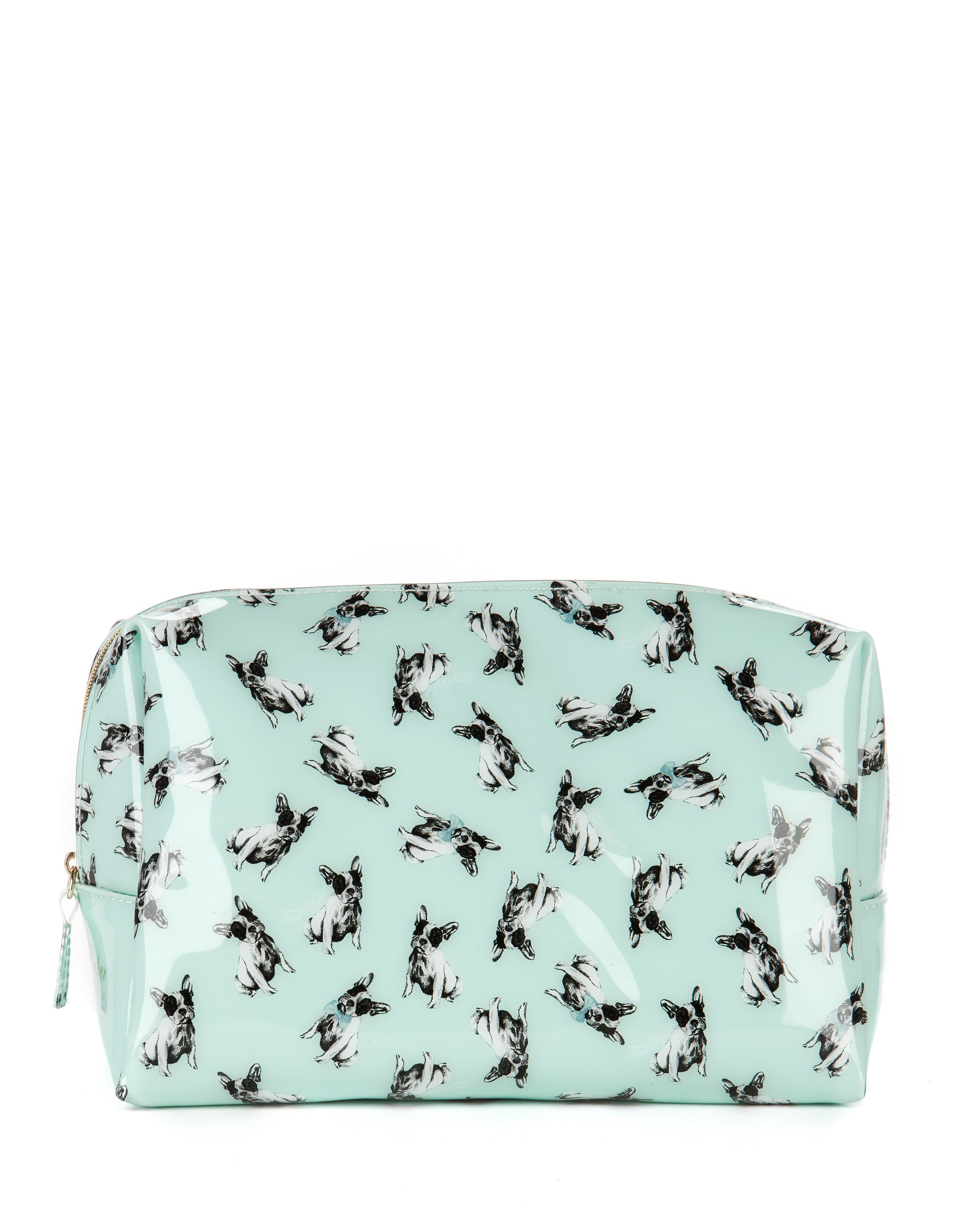 Dorin ditsy dog print washbag