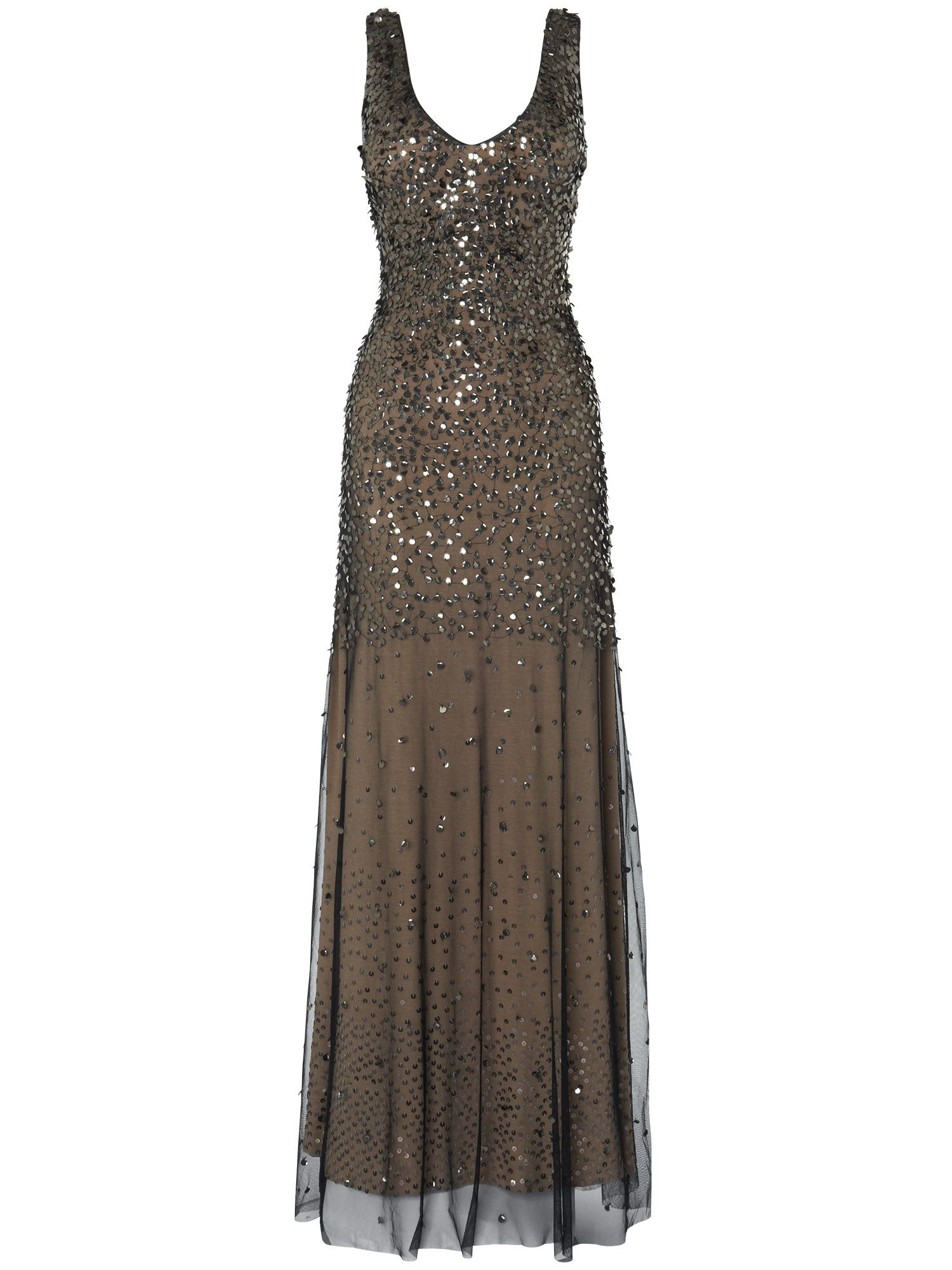 Mariana sequin full length dress