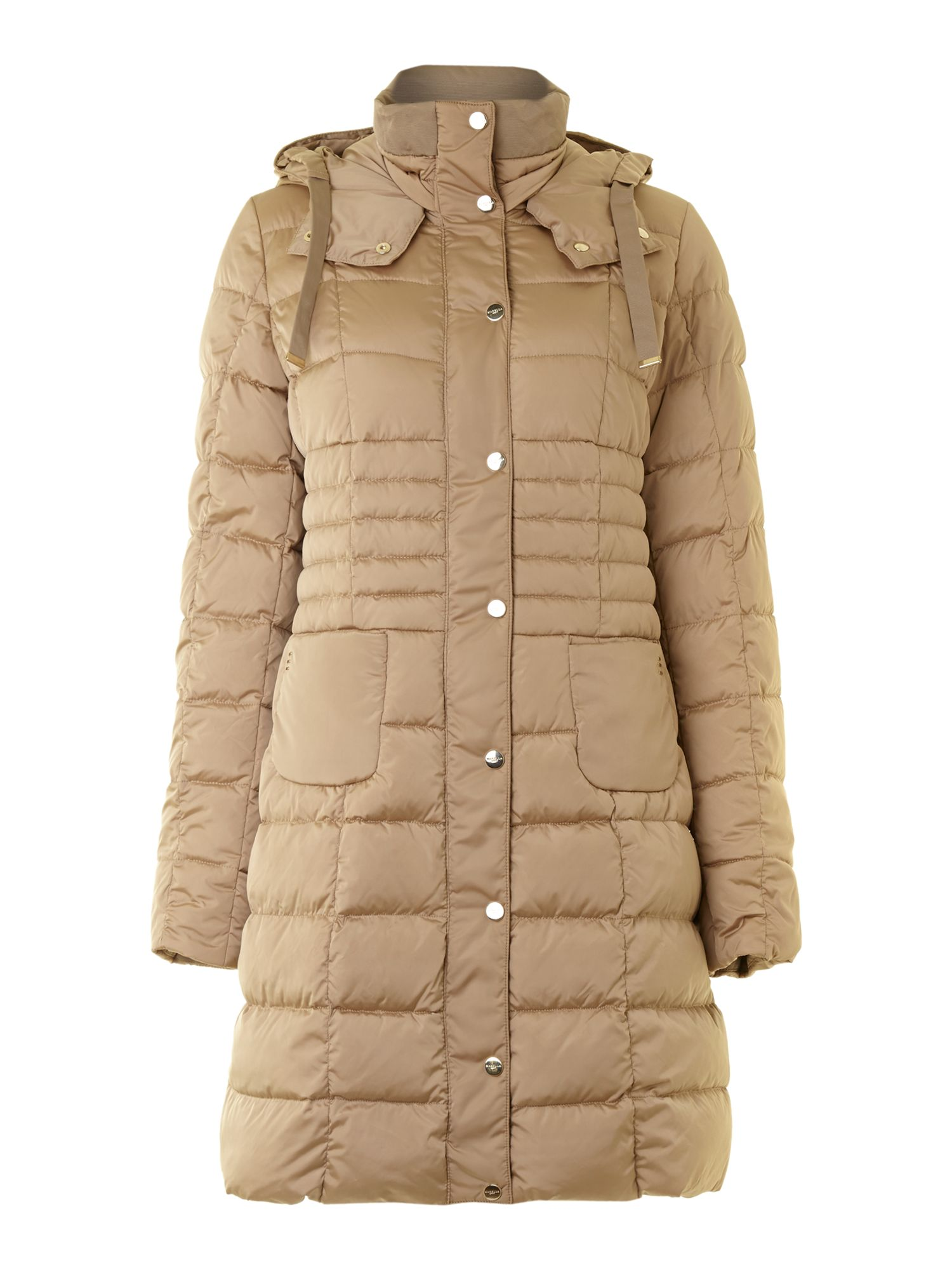 Celeste padded coat with hood