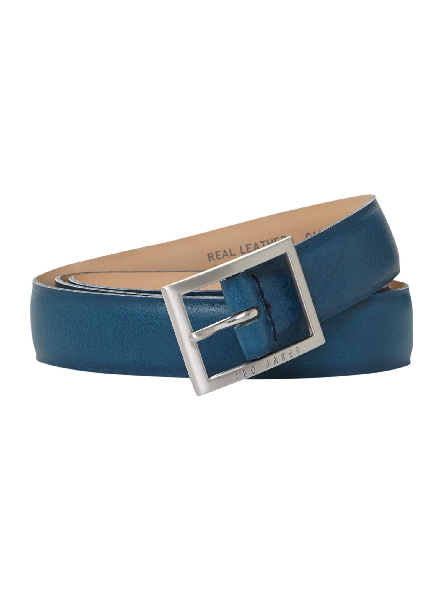 Plain bright coloured belt