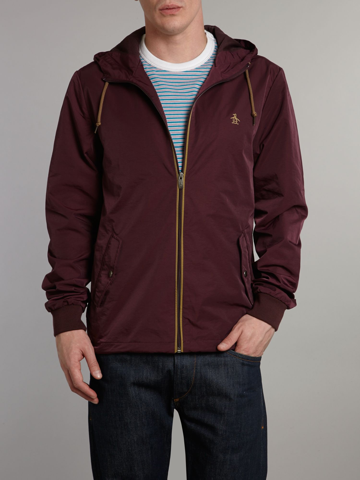 Hooded ratner jacket