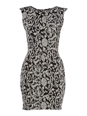 Therapy Jacquard Dress