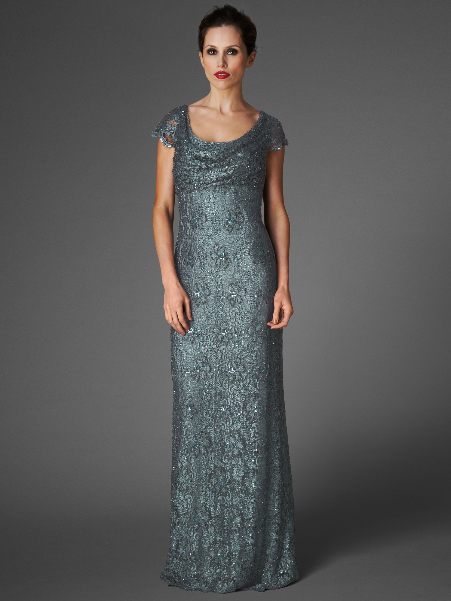 Pippa embellished full length dress
