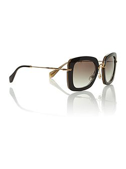 Ladies MU070S black sunglasses