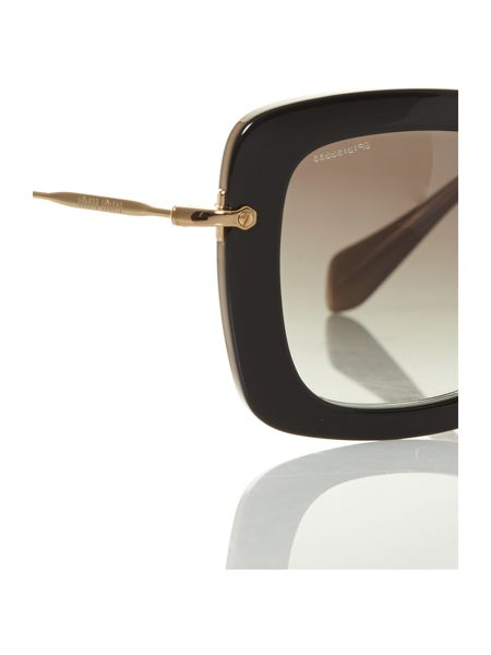 Miu Miu Ladies MU070S black sunglasses