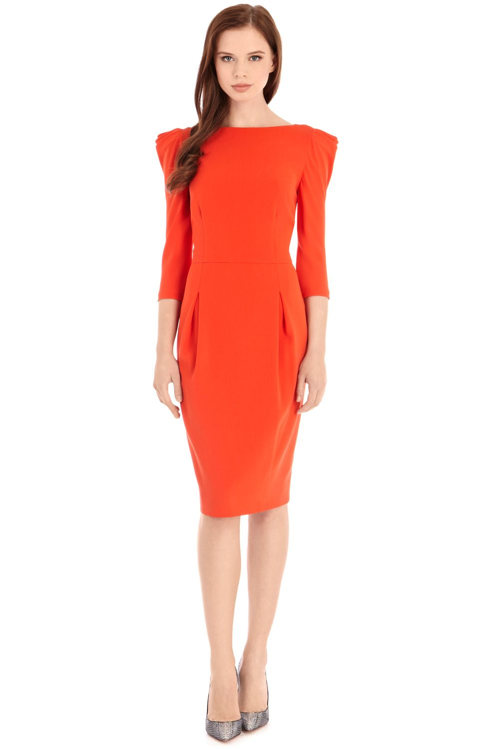 Nickell crepe dress
