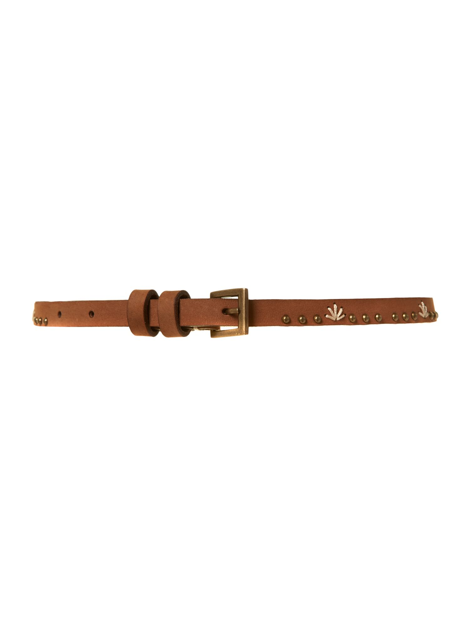 Covered buckle wide waist