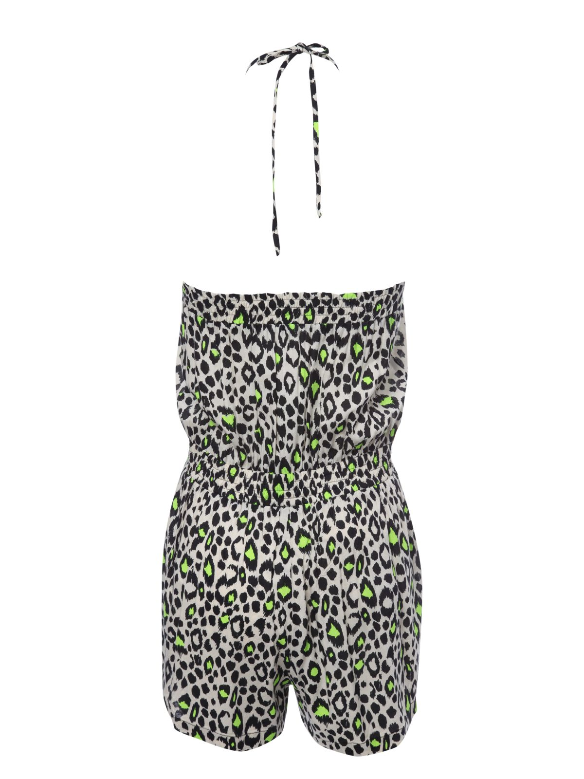 Neon animal playsuit