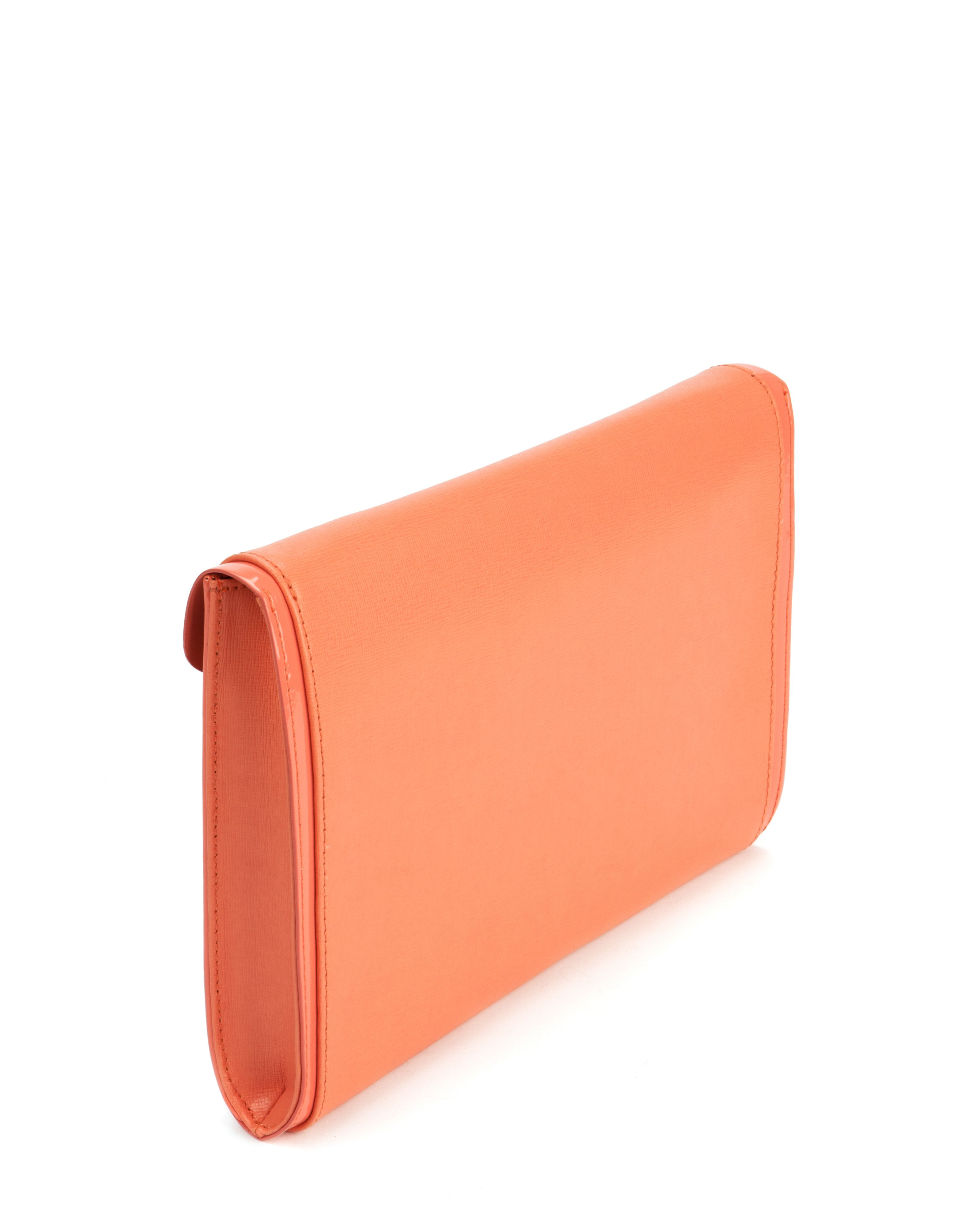 Ashh leather clutch bag