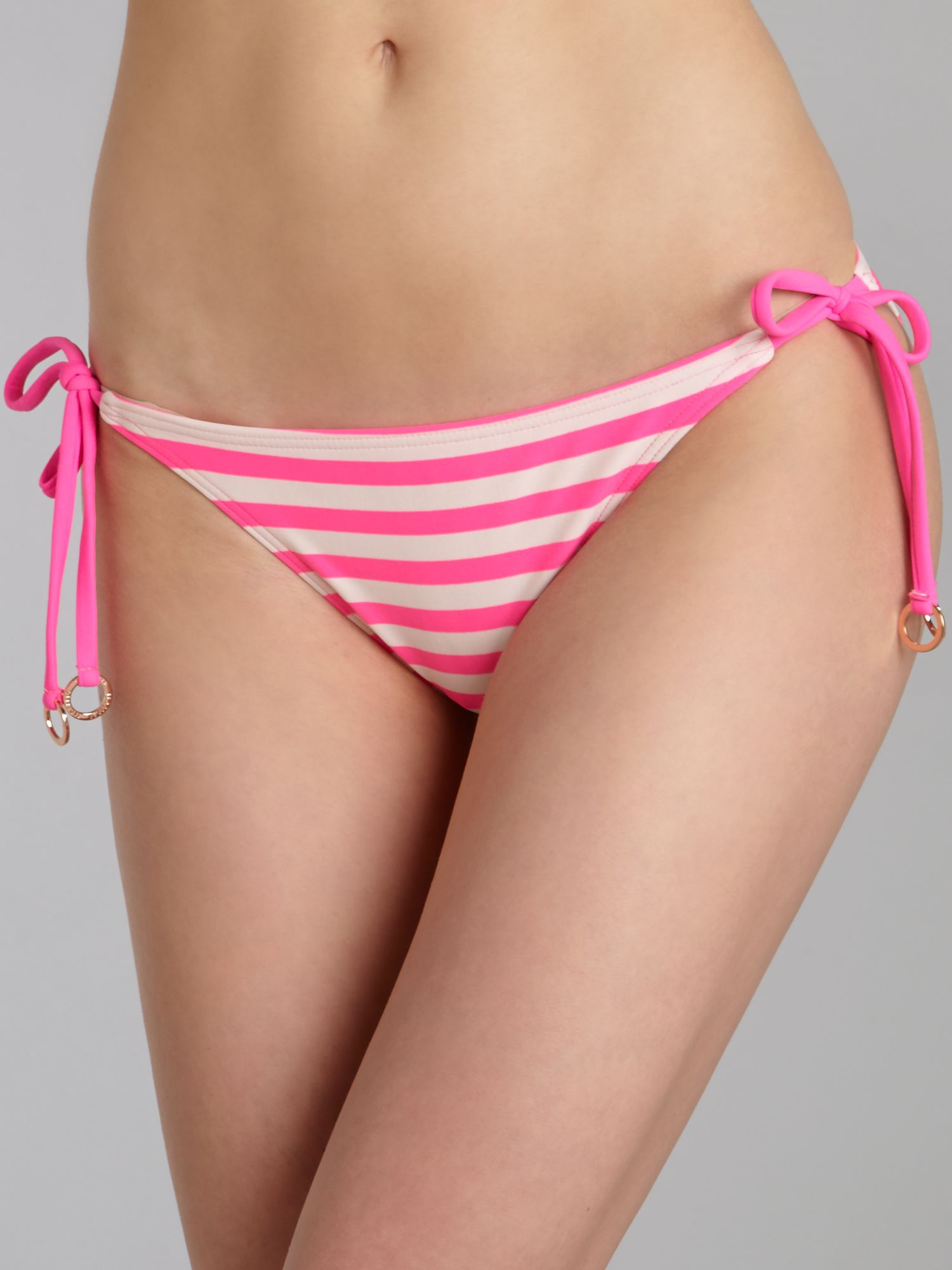 Neon stripe tie side brief