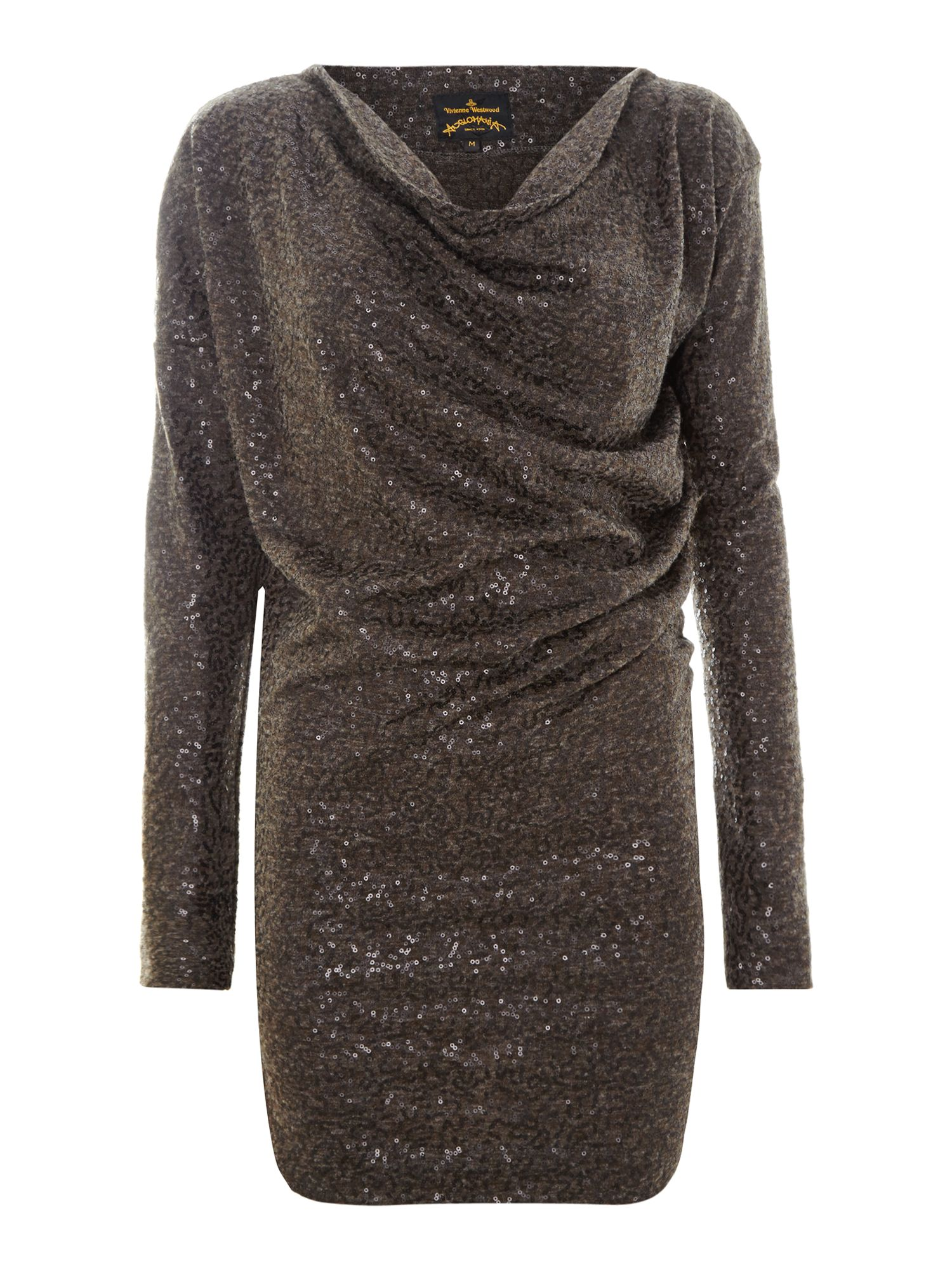 New drape sequin tunic